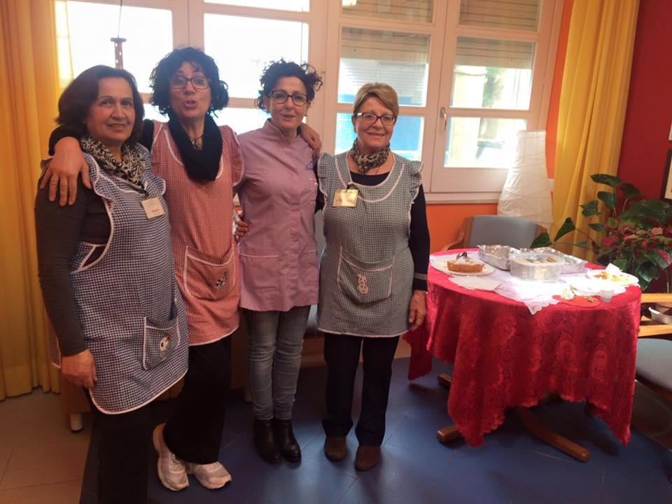 Alcune volontarie dell'Associazione Amici dell'Hospice